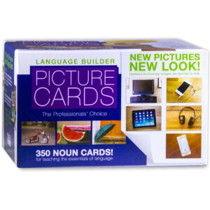 Box of Language Builder Picture Noun Cards