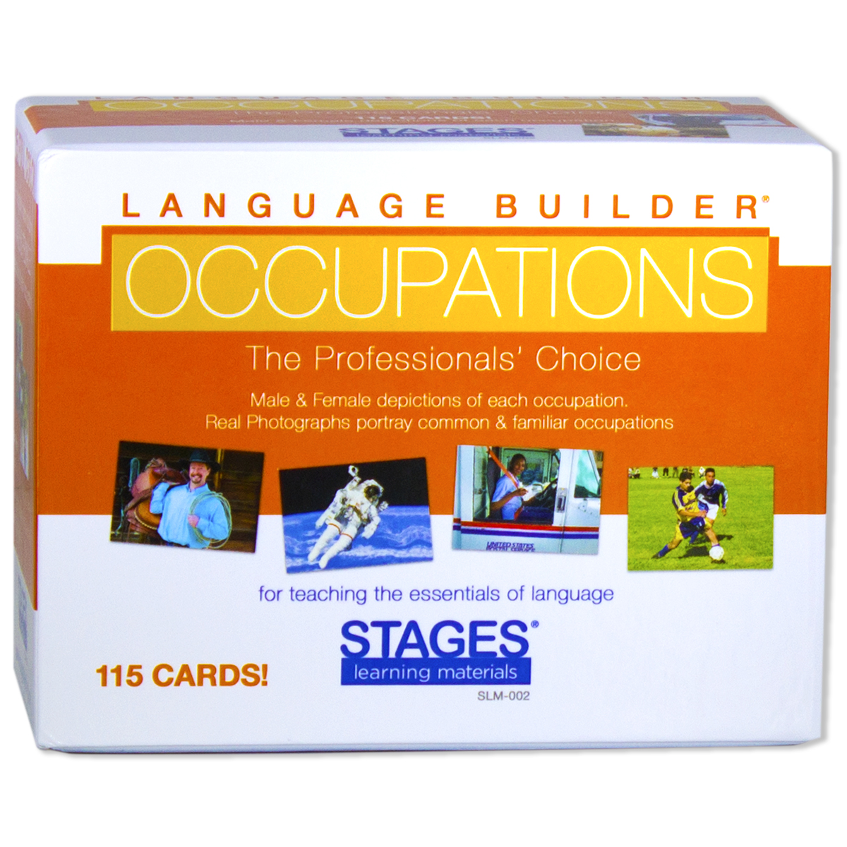 Picture of Language Builder Occupations Cards