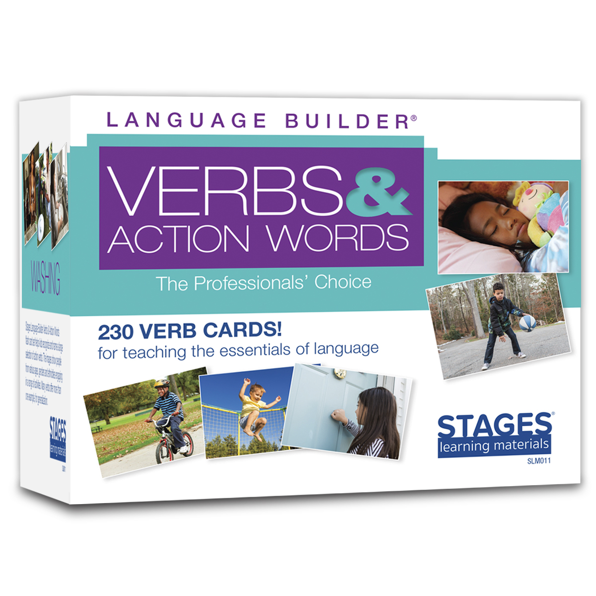 Picture of Language Builder Verb Cards Box